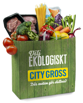 City Gross ekologisk matkasse
