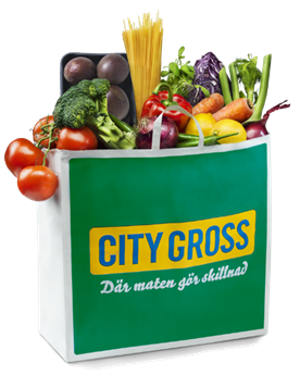 City Gross vegetariska kasse